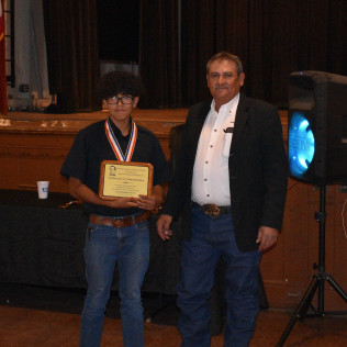 JUSTIN EDISIN - OUTSTANDING YOUTH